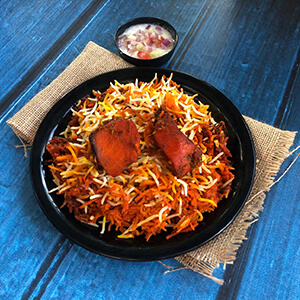 Order chicken tikka biryani online home delivery in Thane, Mumbai