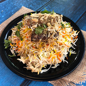 Order chickem malai sheekh biryani online home delivery in Thane, Mumbai