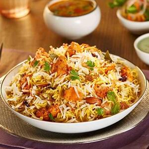 Order paneer tikka biryani online home delivery in Thane, Mumbai
